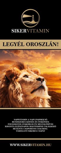 Legyél oroszlán
