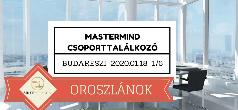 SÜK Találkozó 2020 01 18 Oroszlánok 1